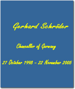 Image result for gerhard schroeder profile cia